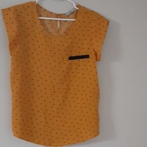 Paw print business top